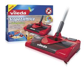 Scopa elettrica vileda opinioni e offerte for Vileda 123186